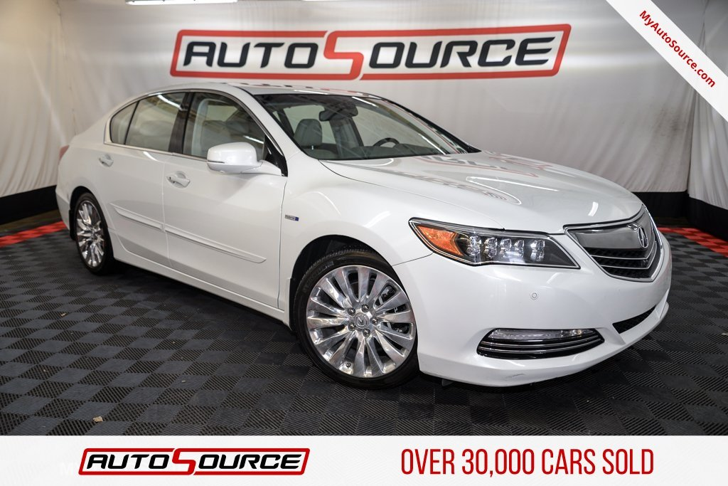 Pre Owned 2016 Acura Rlx Hybrid Advance Pkg