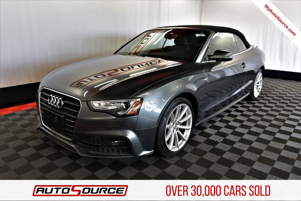Pre Owned 2017 Audi A5 Cabriolet Sport